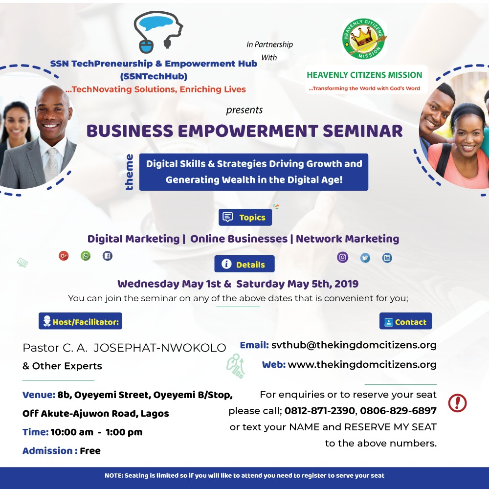 BUSINESS EMPOWERMENT SEMINAR