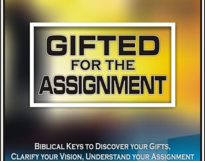 Unlock Gifts, Unleash Potentials, Fulfill Destiny get a Copy of Gifted for the Assignment eBook, Audio & Video Program